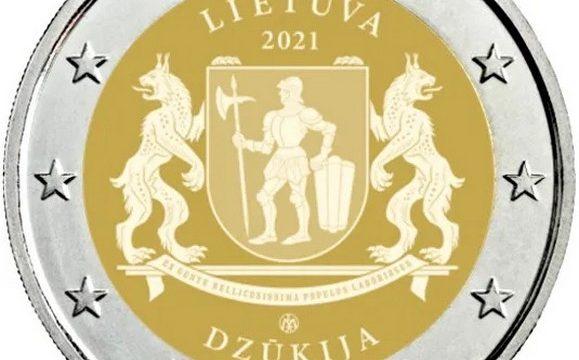 Lituania, 2 euro comemmorativo 2021 per la Dzukija