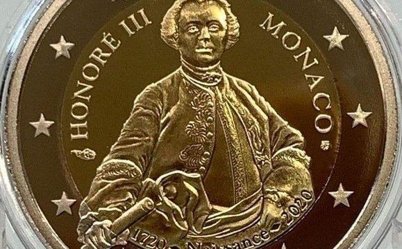 Monaco, 2 euro commemorativo 2020