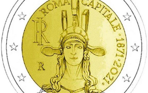 Italia, 2 euro commemorativo 2021 per Roma capitale
