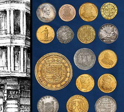 Catalogo gratuito di monete spagnole