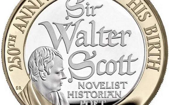 Gran Bretagna, 2 sterline 2021 per Walter Scott