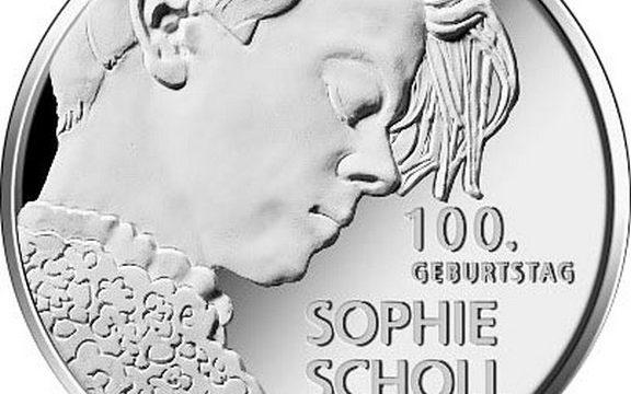 Germania, 20 euro 2021 per Sophie Scholl