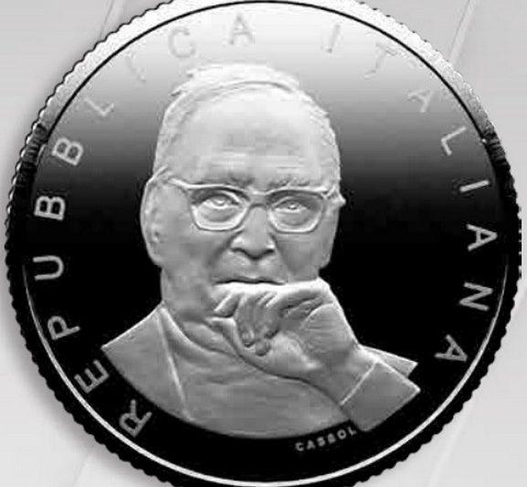 Italia, due monete per Ennio Morricone
