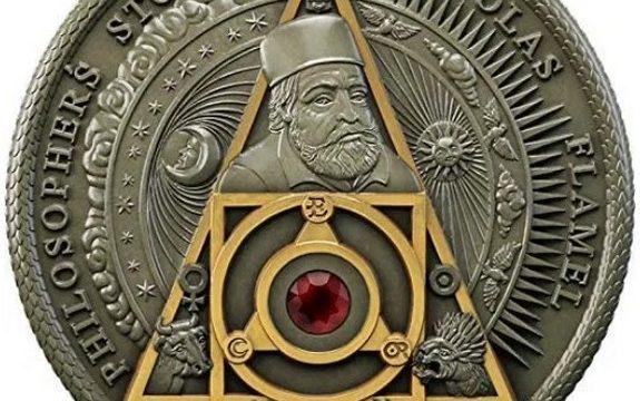 Una moneta omaggia l'alchimia