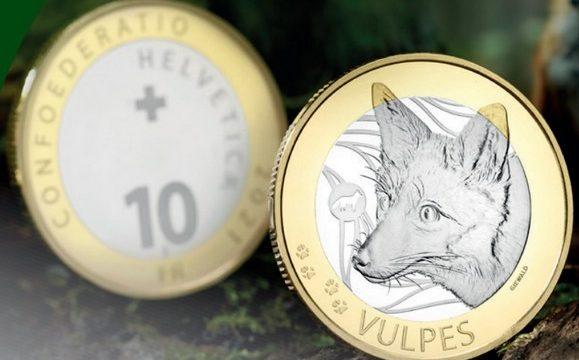Svizzera, 10 franchi 2021 per la volpe