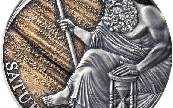 Camerun, moneta per il dio Saturno