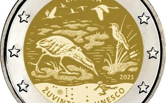 Lituania, 2 euro commemorativo 2021 per Zuvintas