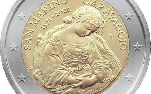 San Marino, 2 euro commemorativo 2021 Caravaggio