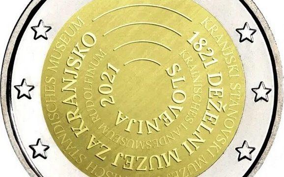 Slovenia, 2 euro commemorativo 2021