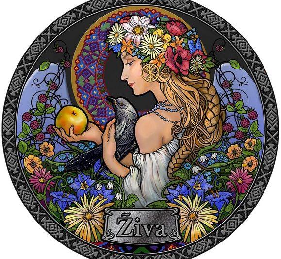 Una moneta per la dea slava Ziva