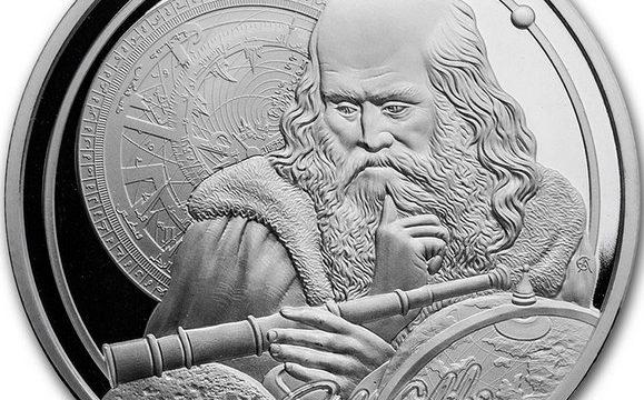 Niue, 5 dollari 2021 per Galileo Galilei