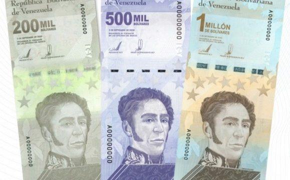 Venezuela, banconote di taglio sempre più alto