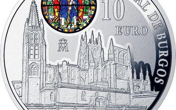 Spagna, 10 euro 2021 per la cattedrale di Burgos