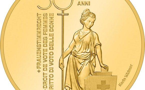 Svizzera, 50 franchi 2021 per il voto femminile