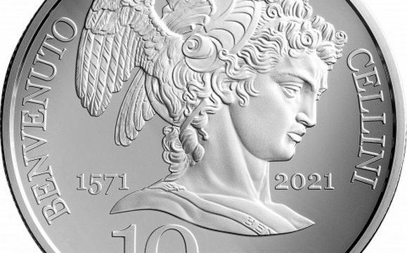 San Marino, 10 euro 2021 per Benvenuto Cellini