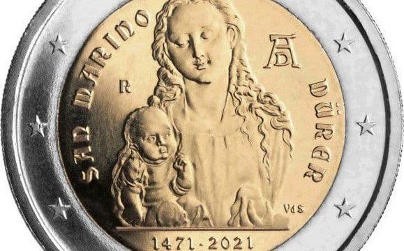 San Marino, 2 euro commemorativo 2021 per Albrecht Dürer