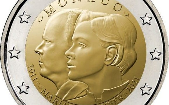 Monaco, 2 euro commemorativo 2021