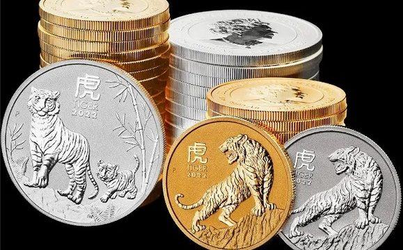 Australia, monete bullion per l'anno della Tigre