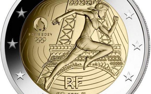 Francia, 2 euro commemorativo 2021 Olimpiadi